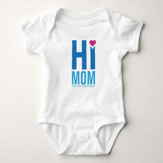 Hi Mom Baby Bodysuit