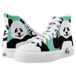 Hi Panda! High Tops