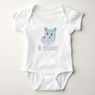Hi-ppopatamus Baby Bodysuit