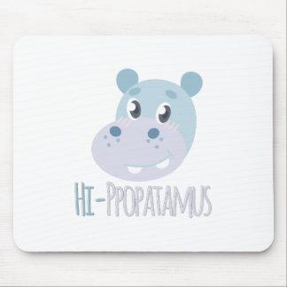Hi-ppopatamus Mouse Pad