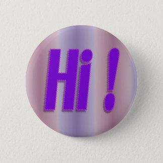 hi purple 2 inch round button