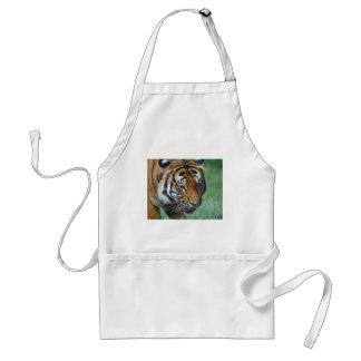 Hi-Res Malay Tiger Close-up Standard Apron