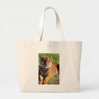 Hi-Res Malayan Tiger Large Tote Bag
