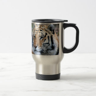 Hi-Res Stoic Royal Bengal Tiger Travel Mug