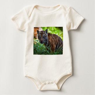 Hi-Res Sumatran Tiger Cub Baby Bodysuit