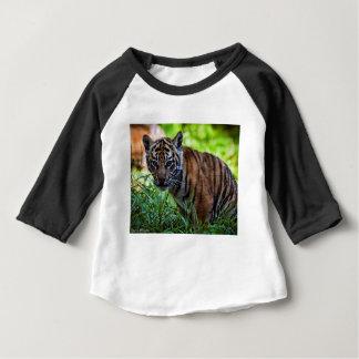 Hi-Res Sumatran Tiger Cub Baby T-Shirt