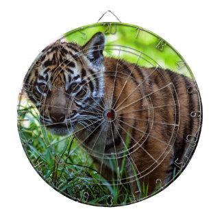 Hi-Res Sumatran Tiger Cub Dartboard