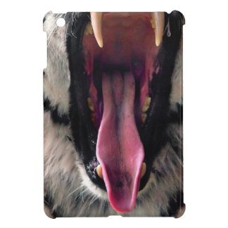 Hi-Res Tiger Bearing Jaws Cover For The iPad Mini