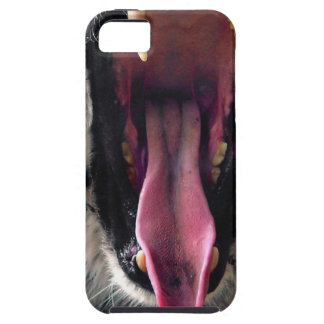 Hi-Res Tiger Bearing Jaws iPhone 5 Cover