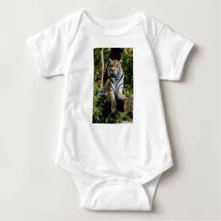 Hi-Res Tiger in Muenster Baby Bodysuit