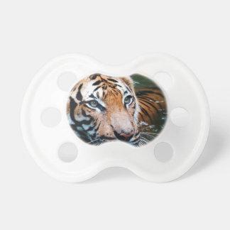 Hi-Res Tiger in Water Pacifier