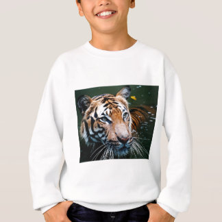 Hi-Res Tiger in Water Sweatshirt