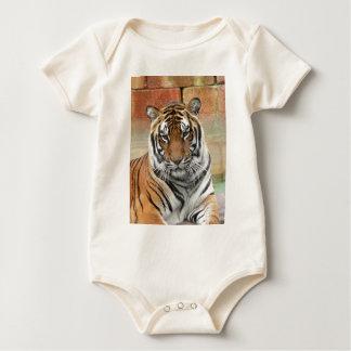 Hi-Res Tigres in Contemplation Baby Bodysuit