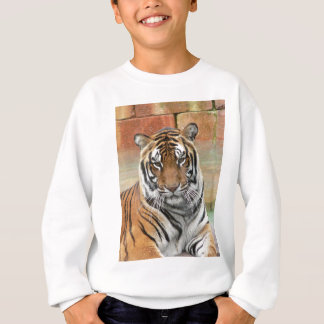 Hi-Res Tigres in Contemplation Sweatshirt