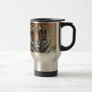 Hi-Res Tigres in Contemplation Travel Mug
