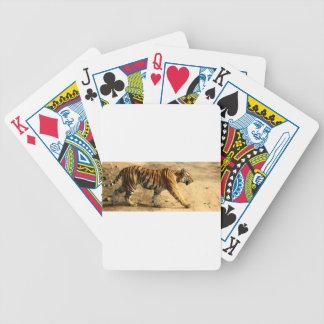 Hi-Res Tigres Stalking Bicycle Playing Cards
