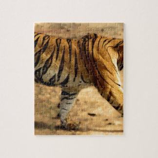 Hi-Res Tigres Stalking Jigsaw Puzzle