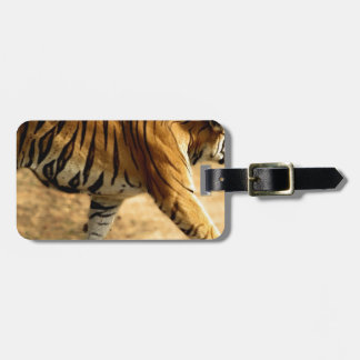 Hi-Res Tigres Stalking Luggage Tag