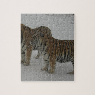 Hi-Res Two Siberian Tigers Jigsaw Puzzle
