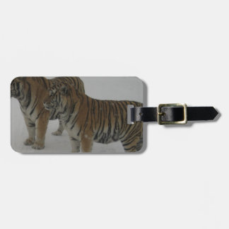 Hi-Res Two Siberian Tigers Luggage Tag