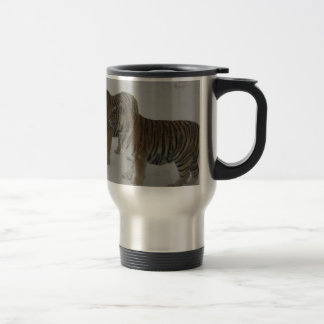 Hi-Res Two Siberian Tigers Travel Mug
