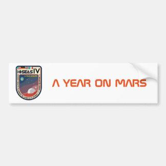 HI-SEAS IV Bumper Sticker