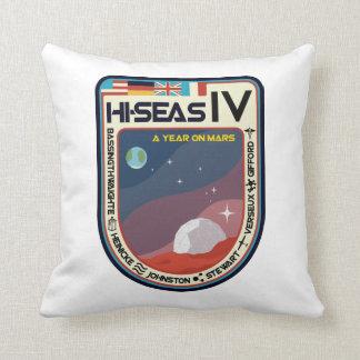 HI-SEAS IV Throw Pillow