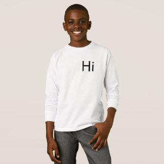 Hi T-Shirt Jumper