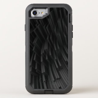 hi-tech chaotic background OtterBox defender iPhone 8/7 case