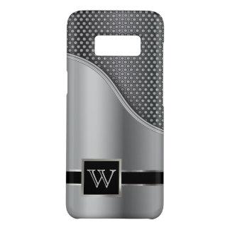 Hi Tech Metal Mesh Monogram Design Case-Mate Samsung Galaxy S8 Case