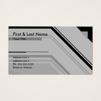 hi-tech professional business card