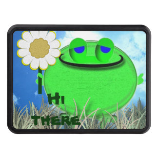 Hi there froggie and daisy trailer hitch cover