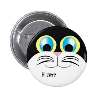 Hi there kitty 2 inch round button