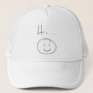 """""""Hi...."""" Trucker Hat"""