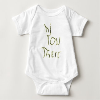 Hi You There glow in the dark Baby Bodysuit