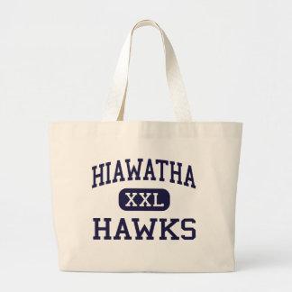 Hiawatha - Hawks - High School - Kirkland Illinois Tote Bag