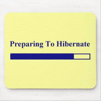 Hibernation Mouse Pad