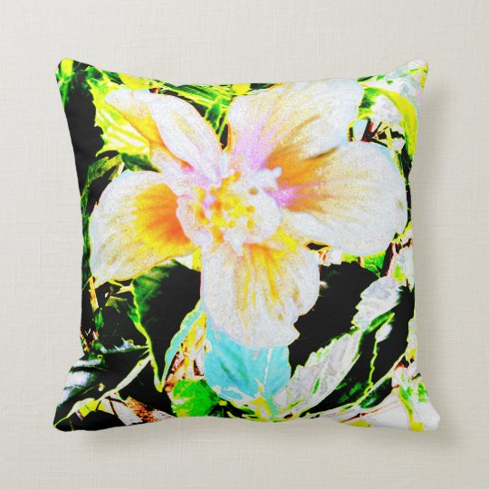Hibiscus 2635b Pillow