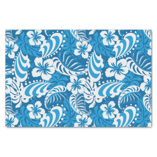 Hibiscus abstract floral tissue paper