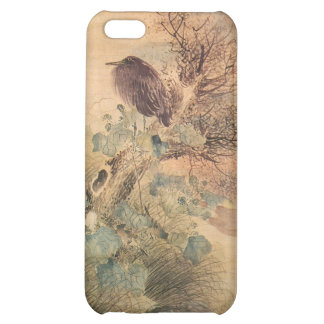Hibiscus and Blue Heron iPhone 5C Covers
