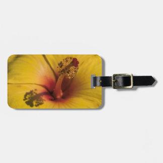 Hibiscus Bag Tag