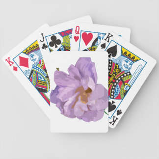 hibiscus bicycle playing cards