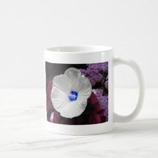 Hibiscus Blue Classic White Coffee Mug