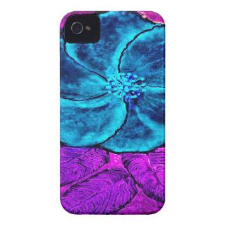 Hibiscus Blues iPhone 4 Cover