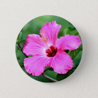 Hibiscus Button