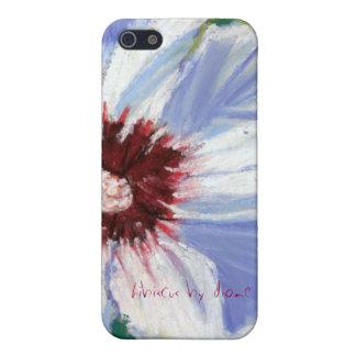 , hibiscus by diane elgin iPhone 5/5S case