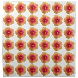 Hibiscus Cloth Napkins