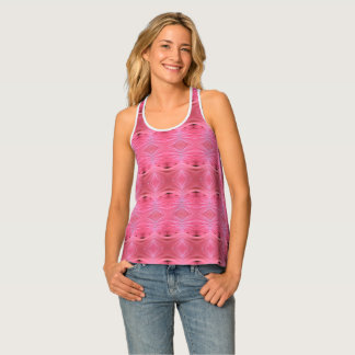 Hibiscus Diamonds Tank Top
