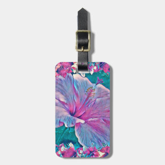 Hibiscus Flower #2 Luggage Tag
