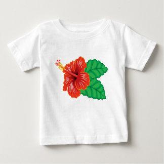 Hibiscus Flower Baby T-Shirt